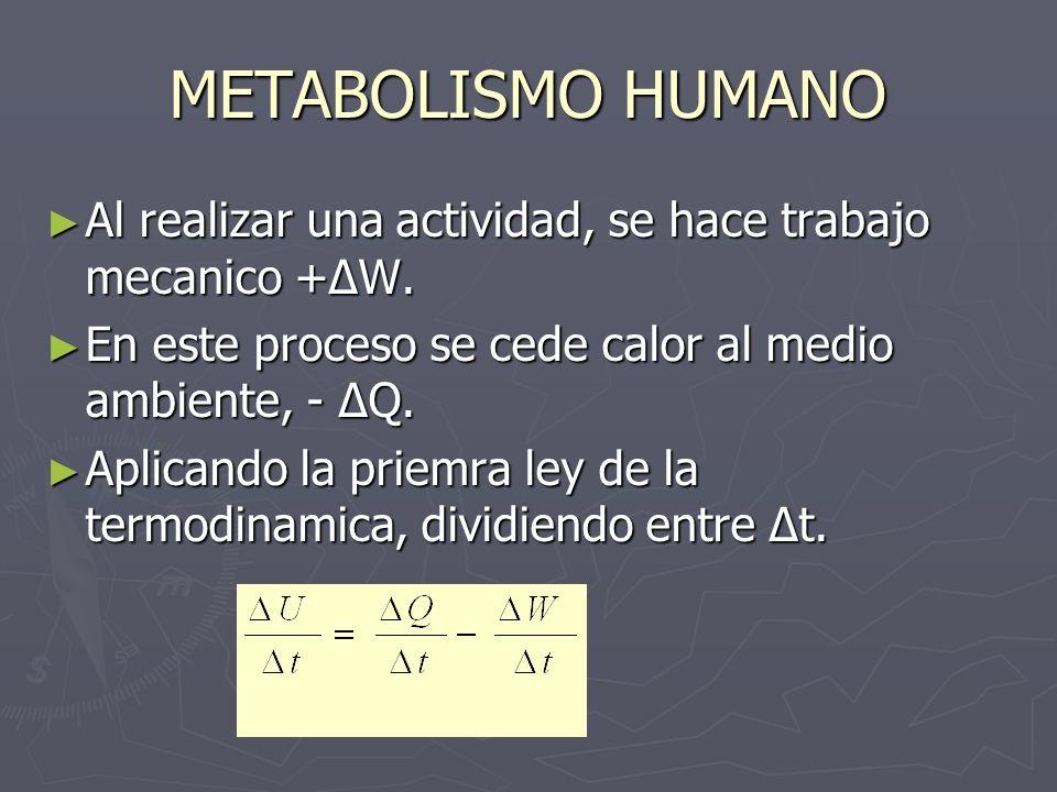 Al realizar una actividad, se hace trabajo mecanico +ΔW. Al realizar una actividad, se hace trabajo mecanico +ΔW. En este proceso se cede calor al med
