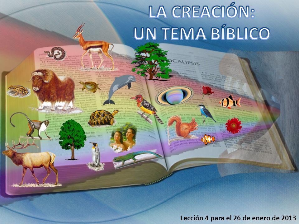 Allí este leviatán que hiciste para que jugase en él [el mar] (Sal. 104:25) Génesis 1:20-23
