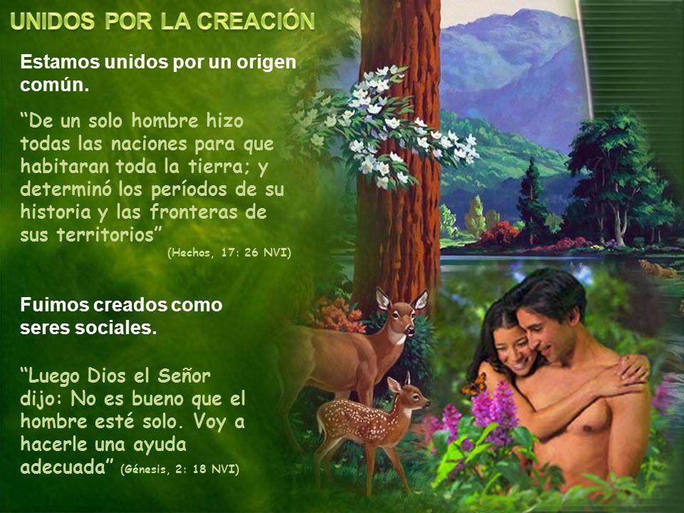 Y Dios creó al ser humano a su imagen (Génesis, 1: 27 NVI) Cuando el hombre pecó, la imagen de Dios se fue degradando rápidamente.