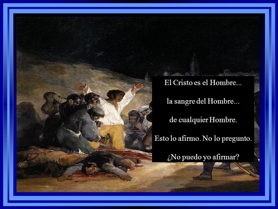 Tal vez sea Cristo... Porque el Cristo no ha muerto... Y el Cristo no es el Rey, como quieren los cristeros y los católicos y tramposos...