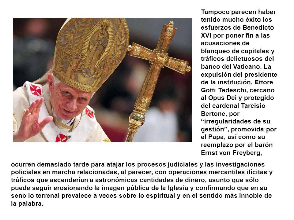 Benedicto XVI fue el primer Papa en pedir perdón por los abusos sexuales en colegios y seminarios católicos, en reunirse con asociaciones de víctimas
