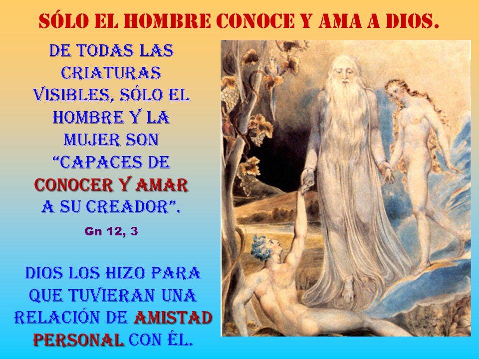 CREACIÓN DEL HOMBRE Dios creó al hombre a su imagen, a imagen de Dios lo creó, hombre y mujer los creó. Gn 1, 27 iguales personas mutua ayudatrasmisor