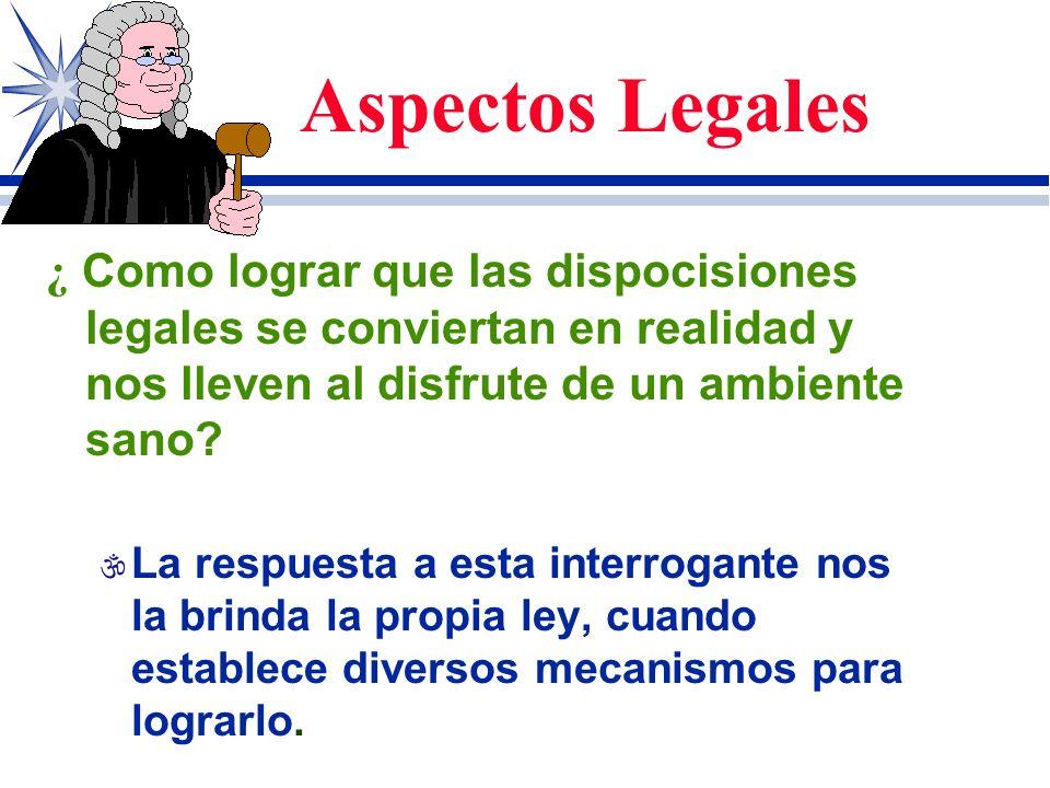 Aspectos Legales [ Tienen las municipalidades el deber legal de proteger los recursos naturales de todo orden, para ello pueden proponer el establecim