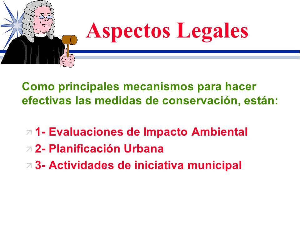 Aspectos Legales ¿ Como lograr que las dispocisiones legales se conviertan en realidad y nos lleven al disfrute de un ambiente sano? \ La respuesta a