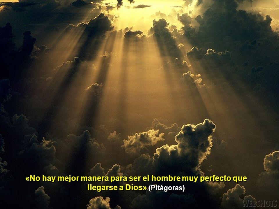 «El genio en ta tierra es Dios que se manifiesta. Cada vez que surge una obra nuestra es una distribución divina. La obra maestra es una especie de mi
