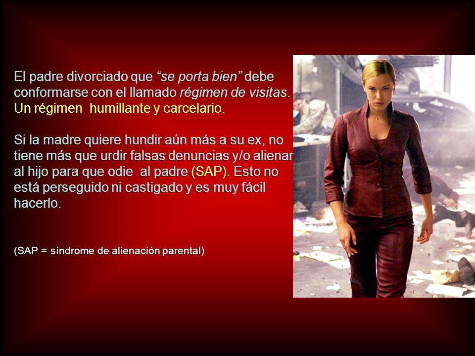 En España, el aparato judicial, al servicio de las feminazis en su gran mayoría, condena cada año a mas de 100.000 niños a la orfandad.