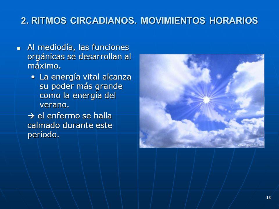 13 2.RITMOS CIRCADIANOS.