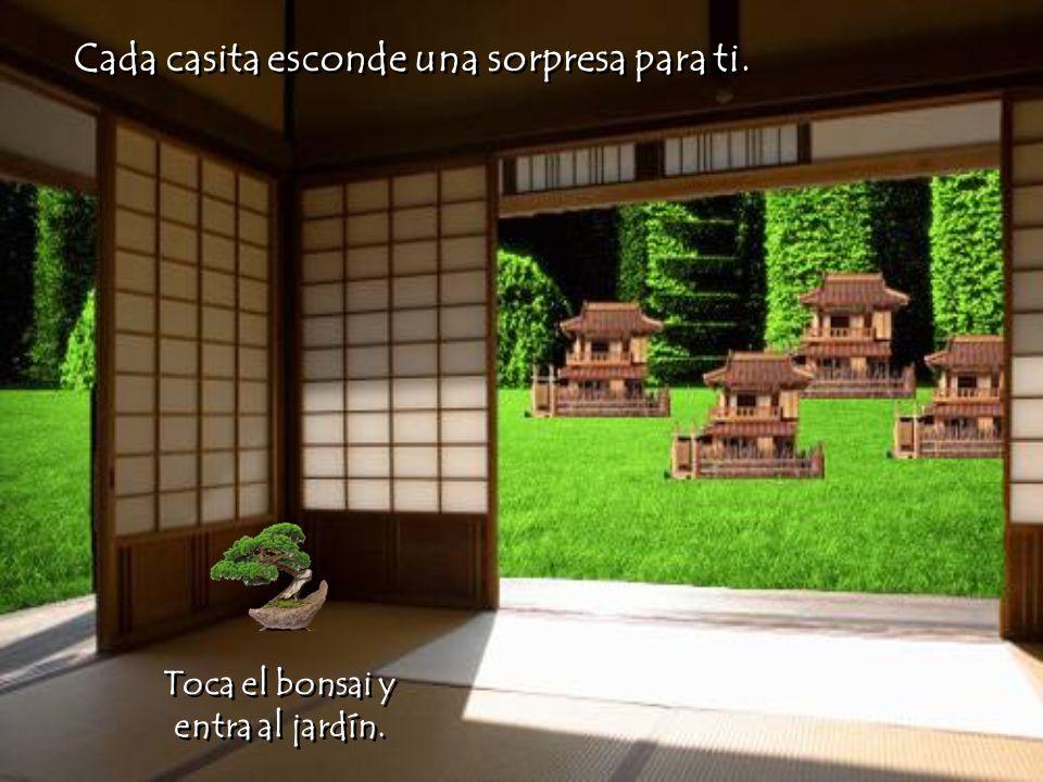 El jardín de las sorpresas El jardín de las sorpresas Toca las puertas.