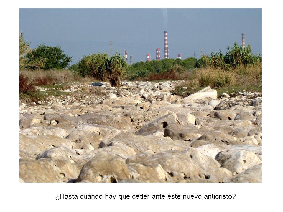 El olor nauseabundo que desprenden los ríos, es mucho mas que mal olor.