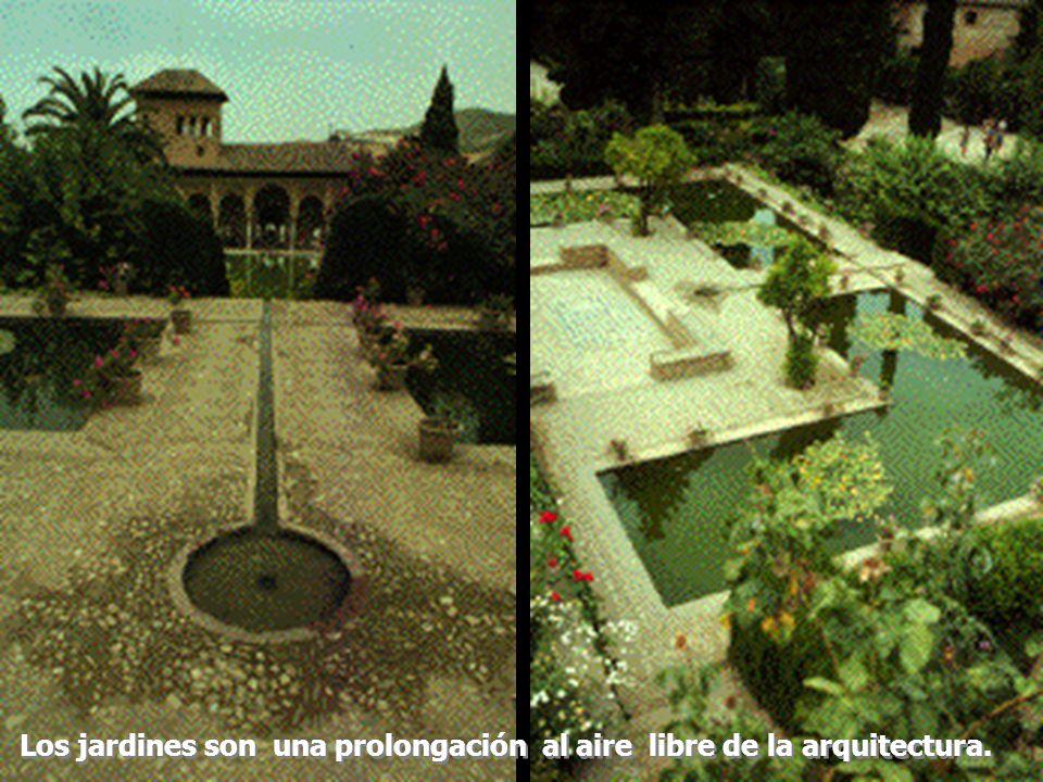 Los jardines son una prolongación al aire libre de la arquitectura.