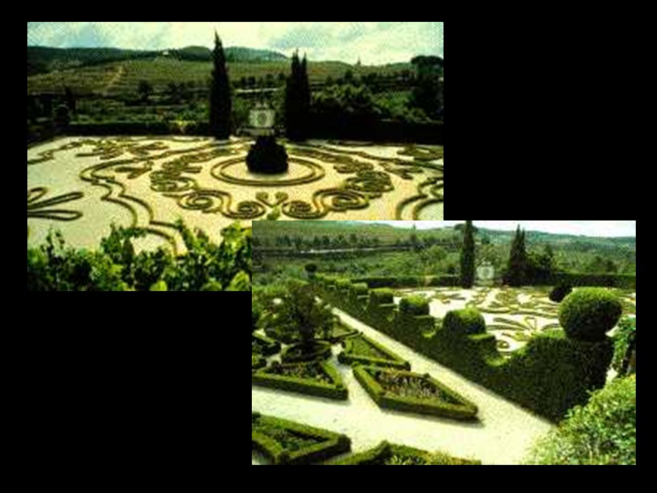 En ésta época el jardín deja de ser una mera prolongación de la casa y se vuelve sólo una parte de la gran composición del paisaje.