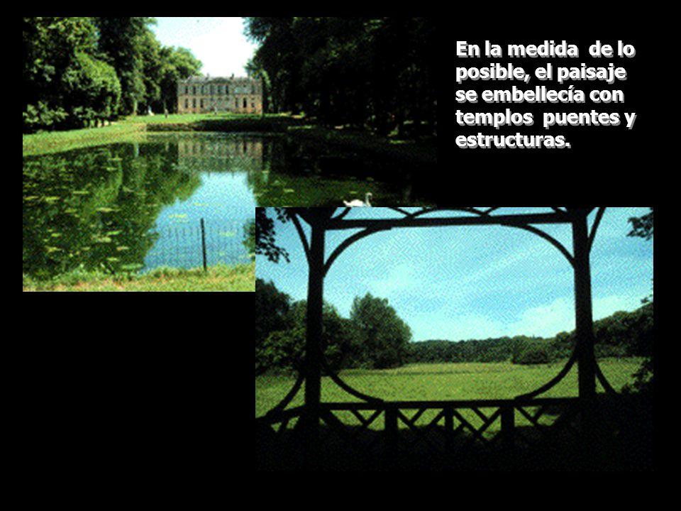 Era de suma importancia eliminar interrupciones visuales entre el jardín y el paisaje.