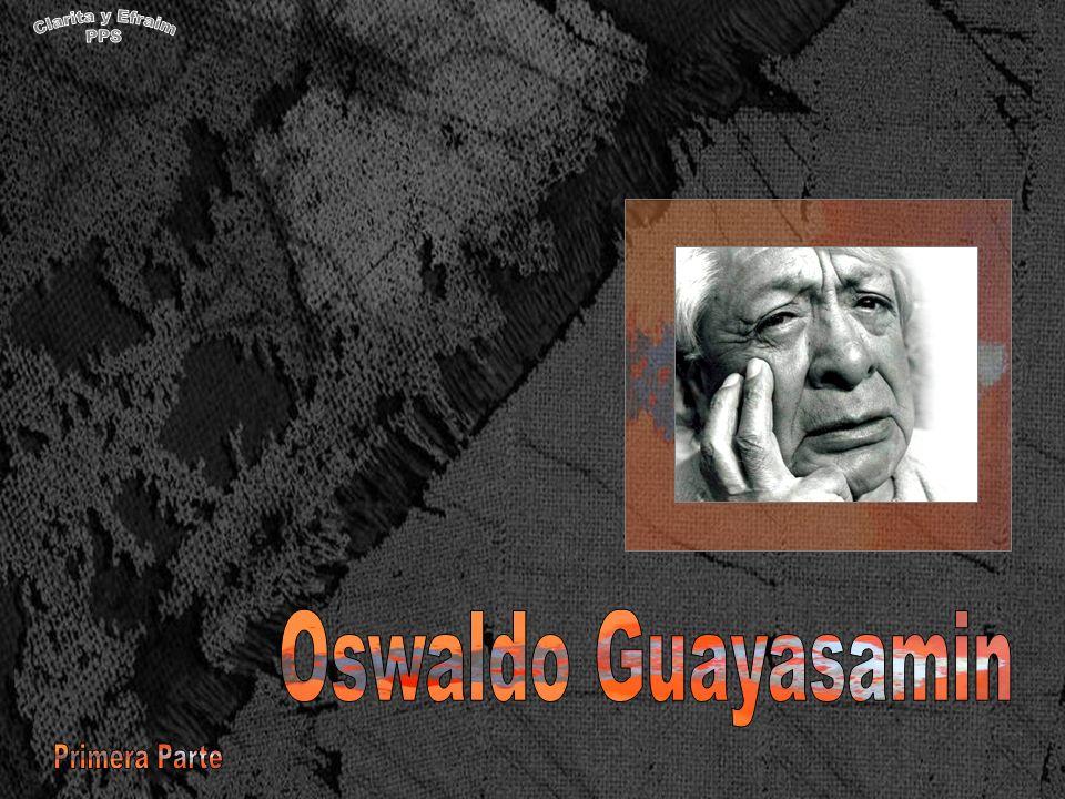 Mi pintura es de dos mundos, dijo Guayasamín.