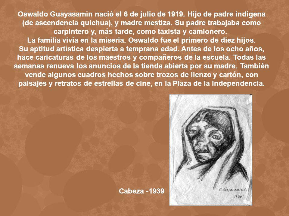Boceto para Indios en Ecuador 1937