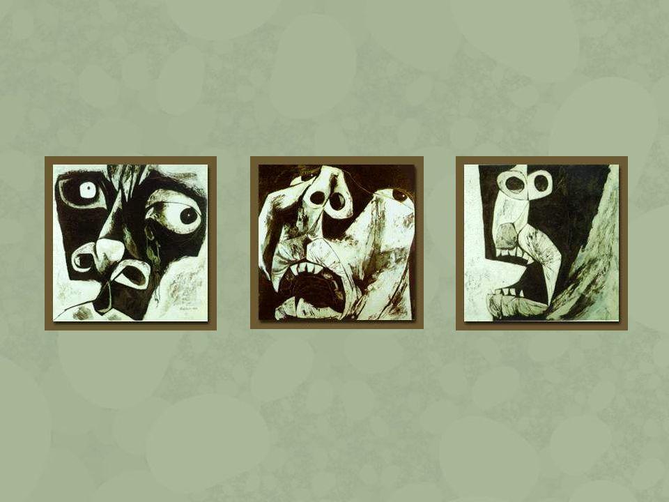 Pinochet, (1978) Mi pintura es para herir, para arañar y golpear en el corazón de la gente.