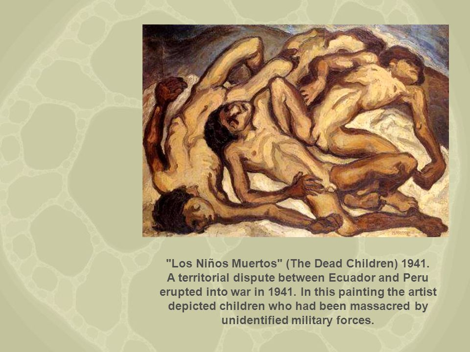 La Madre y el Nino (Mother and Child(. 1941. The wretched of the earth.