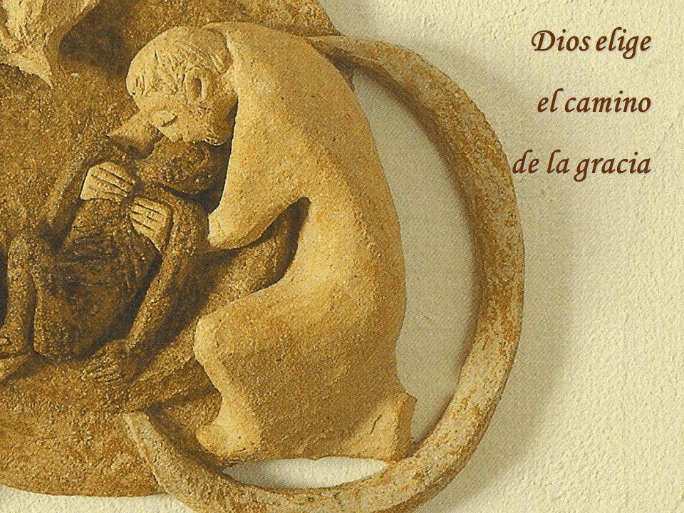 Dios se arrodilla ante el hombre y desea que el hombre coloque a Dios en el centro de su vida
