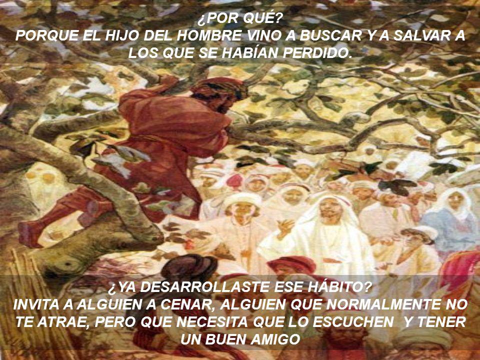AQUÍ SE REGISTRA LA HISTORIA DE JESÚS CUANDO CENABA EN LA CASA DE UN INDESEABLE. A TRAVÉS DE TODO SU MINISTERIO TERRENAL, JESÚS SE RELACIONÓ CON DIFER