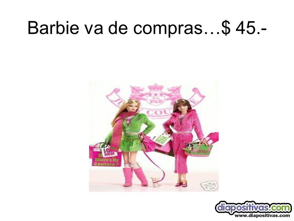 Barbie va a la playa…$ 45.-