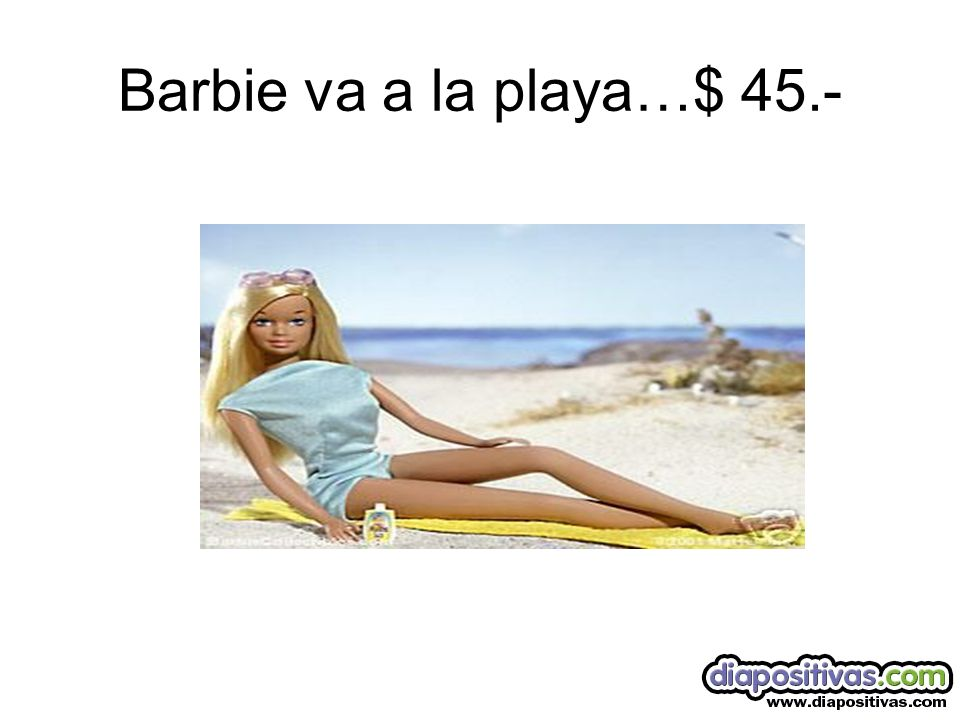 Barbie va de Fiesta….$ 50.-
