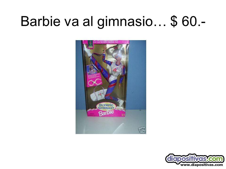 Barbie es mama….. $ 65.-