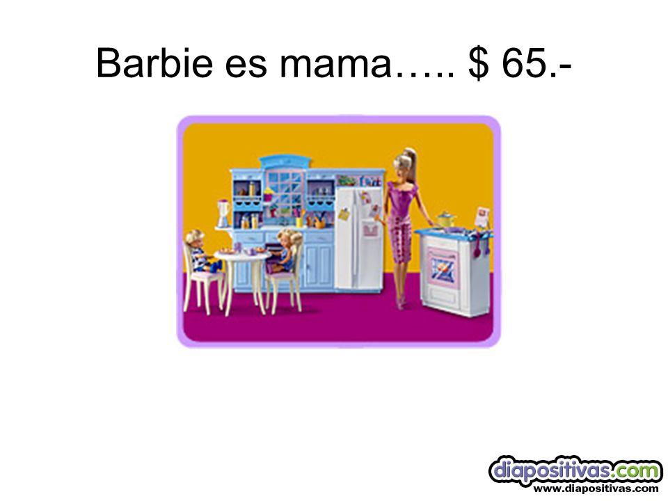 Barbie Divorciada… $ 530.-