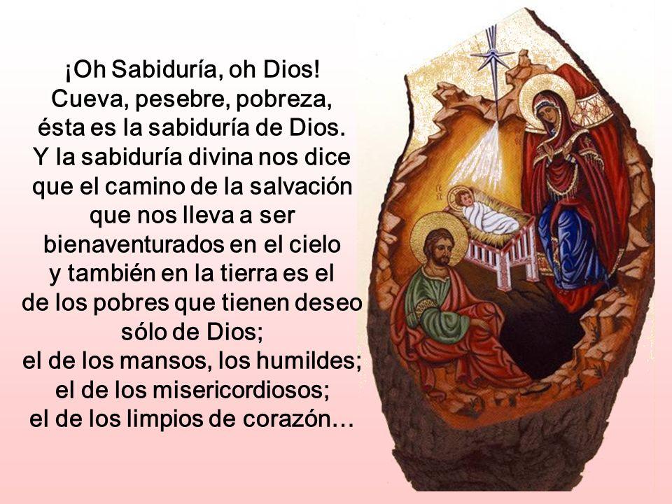 Con este grito sereno de guerra contra el pecado sigamos a María. Es éste el único modo digno de celebrar la Navidad.