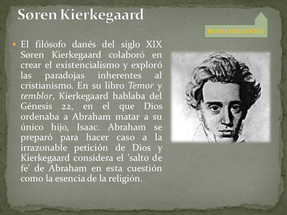 El filósofo danés del siglo XIX Søren Kierkegaard colaboró en crear el existencialismo y exploró las paradojas inherentes al cristianismo. En su libro