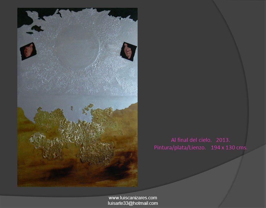 www.luiscanizares.com luisarte33@hotmail.com La vida en un cuerpo deshabitado -1.