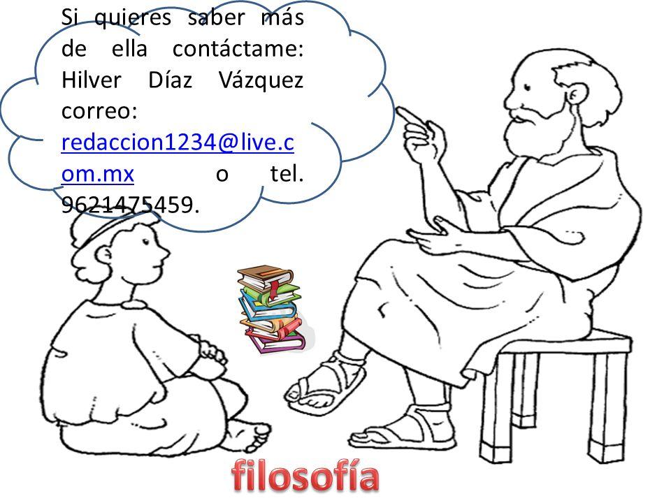 Si quieres saber más de ella contáctame: Hilver Díaz Vázquez correo: redaccion1234@live.c om.mx o tel. 9621475459. redaccion1234@live.c om.mx
