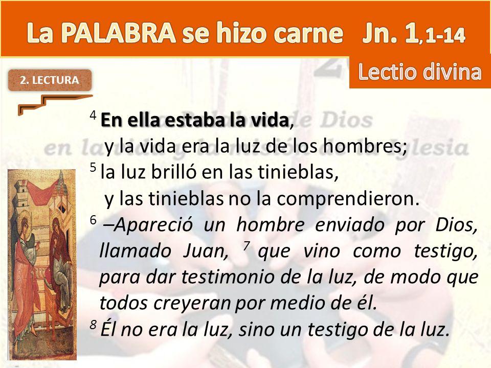 3.MEDITACION El Logos, poder creador y salvador de Dios.