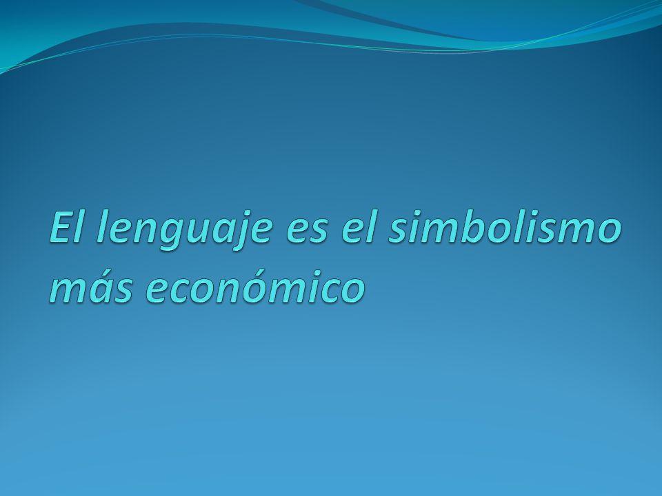 El lenguaje, una entidad de doble faz expresión y significado = signo