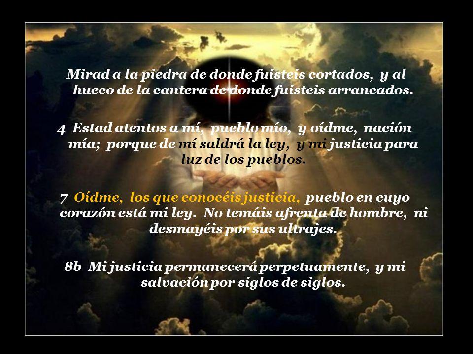 Oracion de Isaias al Señor y … 9 Despiértate, despiértate, vístete de poder, oh brazo del Señor; despiértate como en el tiempo antiguo, en los siglos pasados.