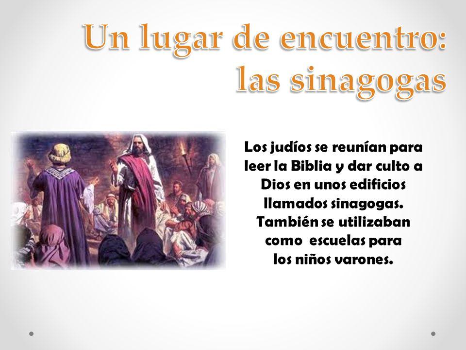 Los profetas anunciaron que Dios enviaría al mundo un Mesías para salvar al pueblo y librarlo de todas sus desgracias.