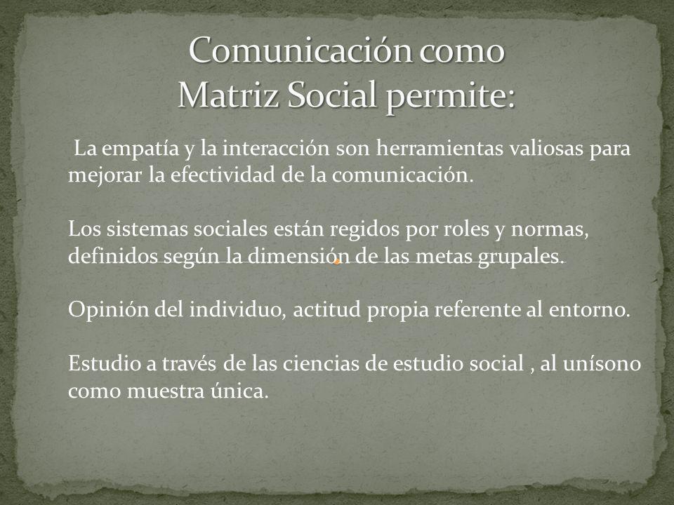 La empatía y la interacción son herramientas valiosas para mejorar la efectividad de la comunicación.