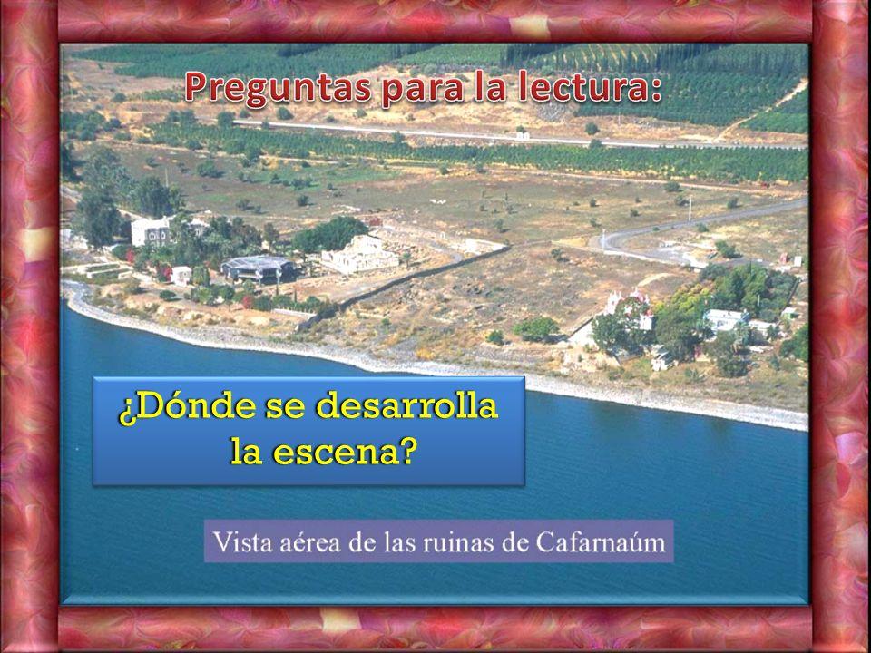 Jn 6, 24-35 24 En aquel tiempo, cuando la gente vio que ni Jesús ni sus discípulos estaban allí, se embarcaron y fueron a Cafarnaúm en busca de Jesús.
