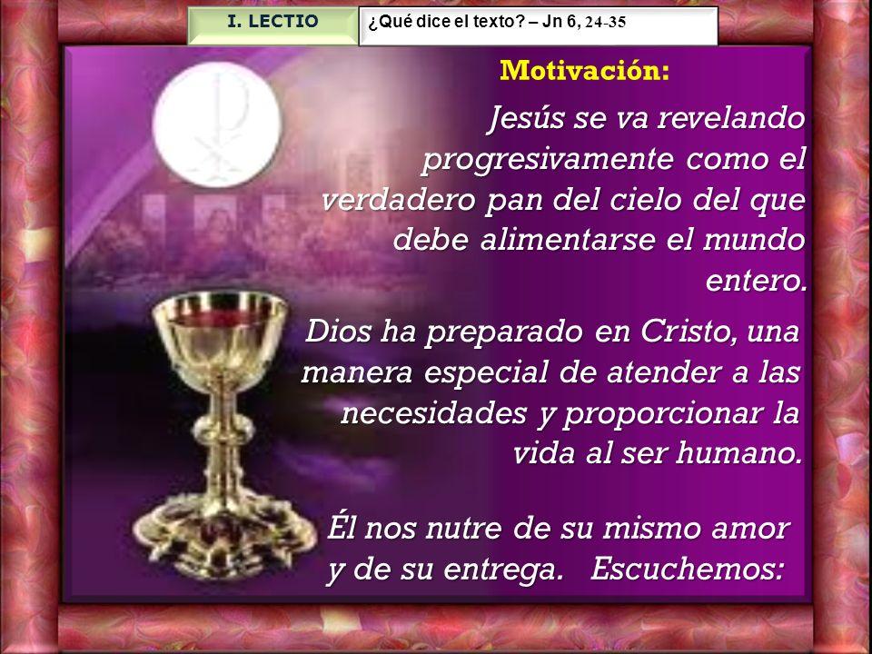 33 Porque el pan de Dios es el que baja del cielo y da vida al mundo».