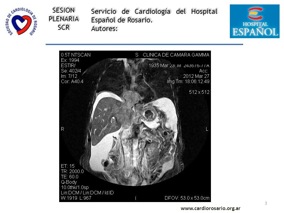 3 www.cardiorosario.org.ar Servicio de Cardiología del Hospital Español de Rosario.