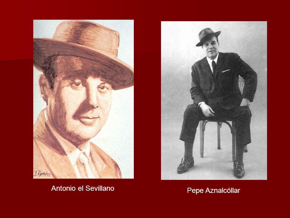 Pepe Aznalcóllar Antonio el Sevillano