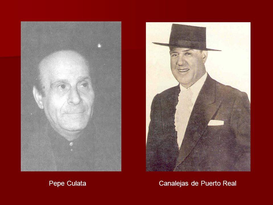 Pepe Culata Canalejas de Puerto Real