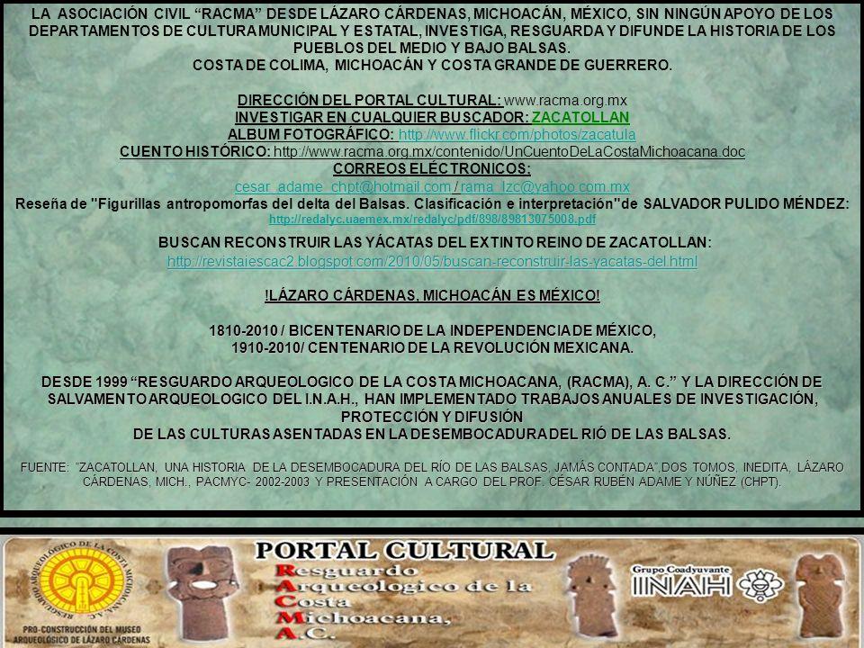 BIBLIOGRAFÍA DEL CAPÍTULO VIII. - Acevedo Núñez, José, Pbro., ARTEAGA… Mis recuerdos, Arteaga de Salazar, Mich., 1993. - Enciclopedia de México, José