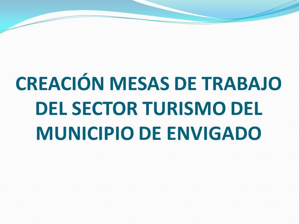 CREACIÓN MESAS DE TRABAJO DEL SECTOR TURISMO DEL MUNICIPIO DE ENVIGADO