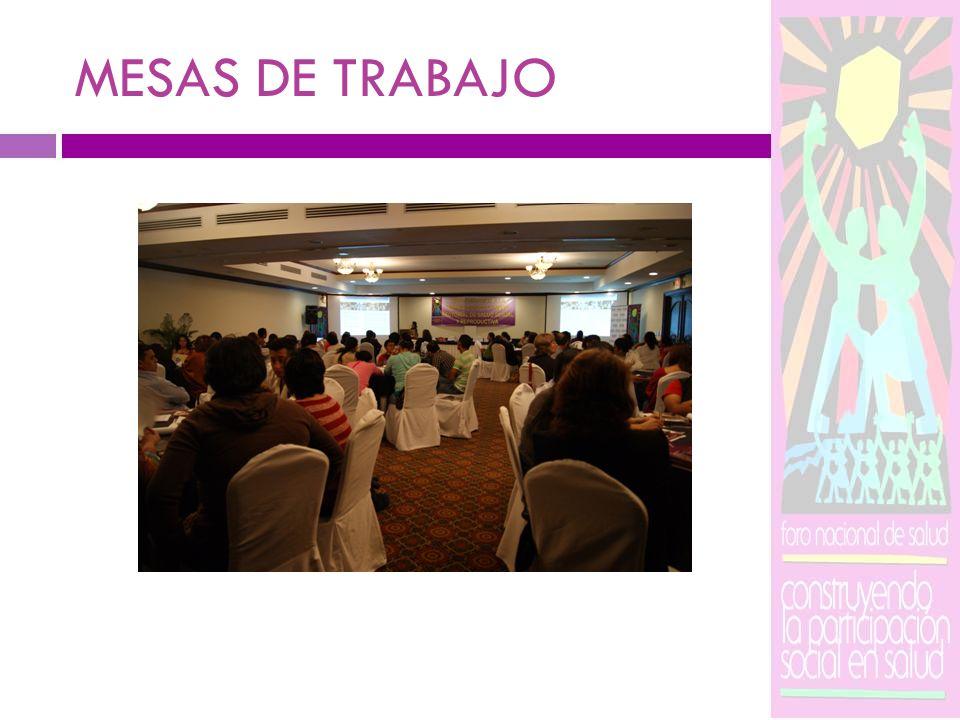 MISIÓN DE LA MSSR Somos ciudadanas, ciudadanos y entidades comprometidas con la salud sexual y reproductiva de la sociedad salvadoreña, miembros del Foro Nacional de Salud.