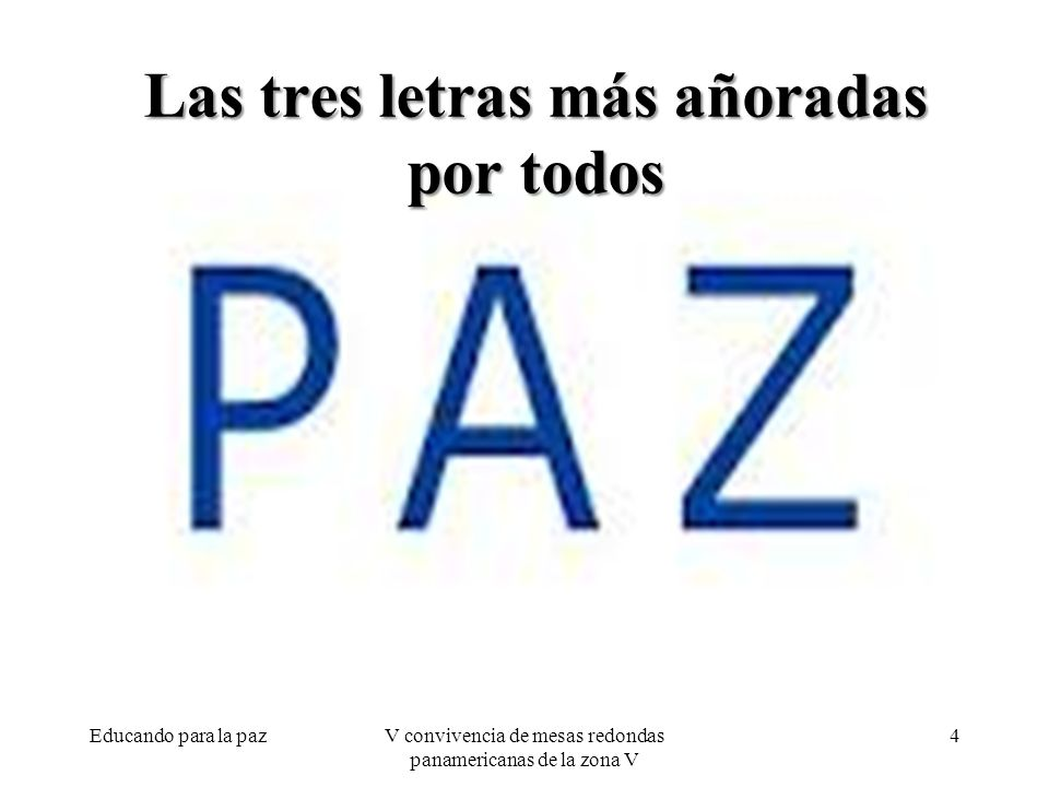 Encontrémonos María del Valle Vásquez marivallevasquez@yahoo.com Jazmín Sambrano @Jazmin2525 jazminsambrano@hotmail.com Educando para la paz25V convivencia de mesas redondas panamericanas de la zona V
