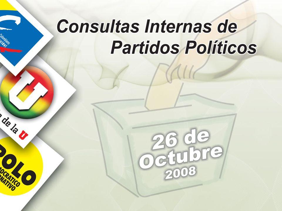 COBERTURA: Los 1.102 municipios del país, incluyendo puestos de votación en 1.374 corregimientos.
