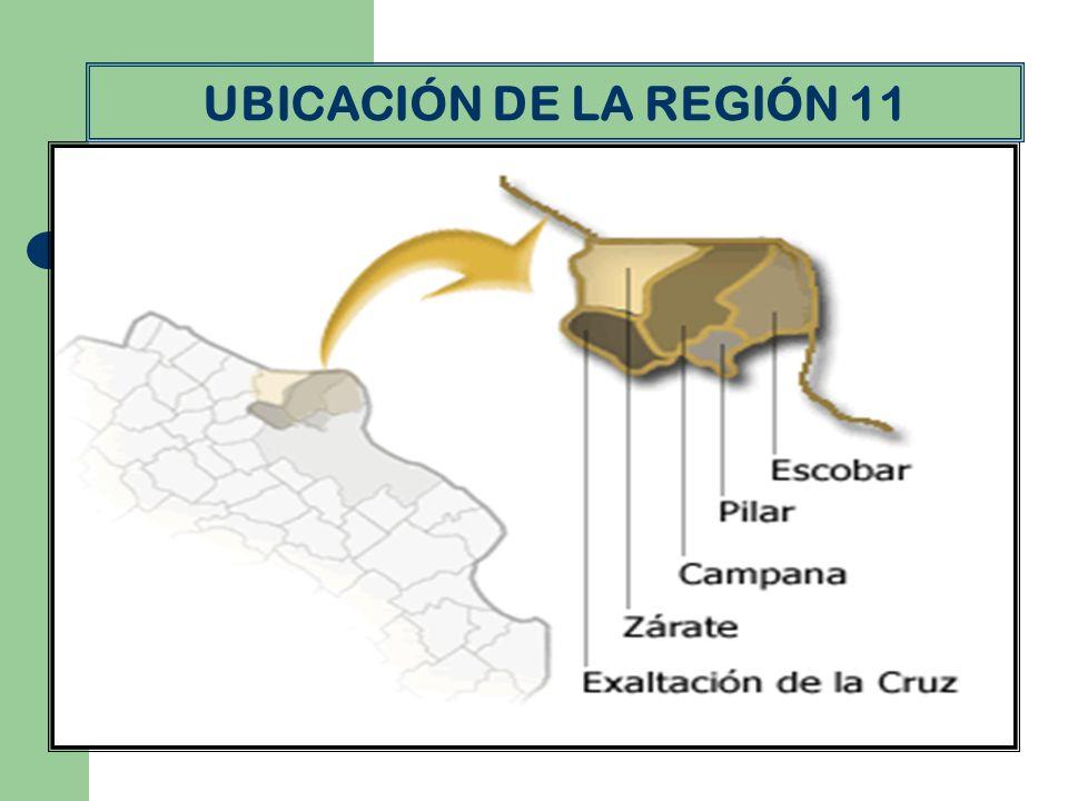 UBICACIÓN DE LA REGIÓN 11