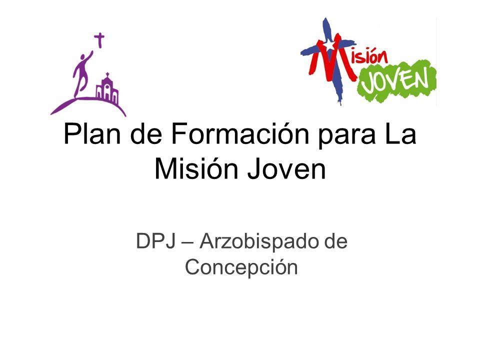Plan de Formación para La Misión Joven DPJ – Arzobispado de Concepción