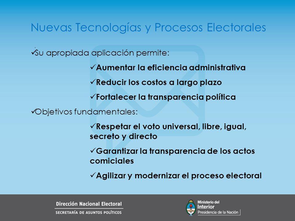 El Voto Electrónico El voto electrónico implica aplicar tecnologías a las etapas de identificación del elector, emisión del voto, registro de esa voluntad, y recuento de resultados en la mesa.