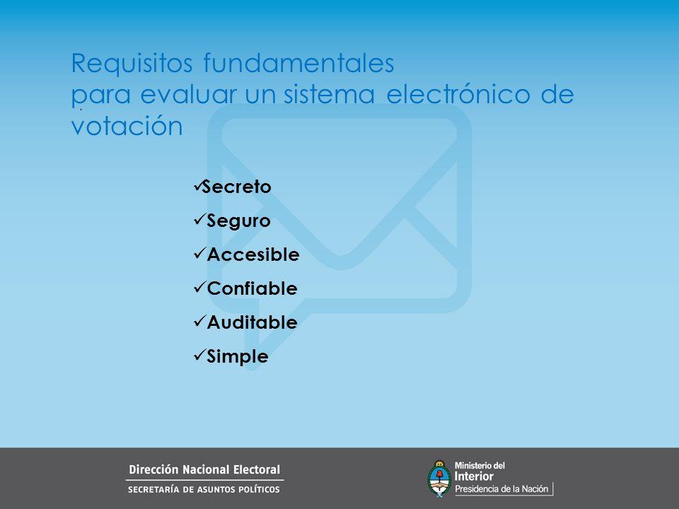 . Sistemas de Votación Electrónica Podemos hacer una primera distinción entre los sistemas modernos de votación: Sistemas de emisión remota del voto Internet Sistemas de emisión presencial del voto Máquinas y programas específicos