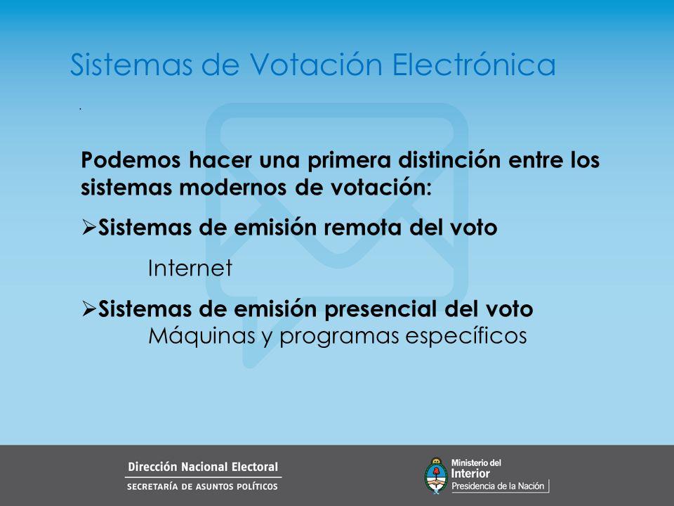 . Sistema Remoto de Votación El sistema de votación remota puede realizarse a través de: Computadora personal Teléfonía celular TV digital (Sistemas de comunicación bidireccional)